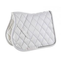 EQUI-THEME Diamond saddle pad White