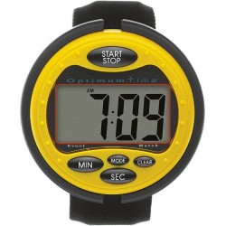 CHRONOMETRE OPTIMUM TIME Jaune