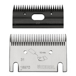 Premium shearing blade set 31/23 teeth, fine cut