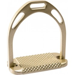 FEELING LARGE PRO ALUMINIUM STIRRUPS Golden colour