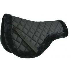 Equi-Theme Luxe back pad Black